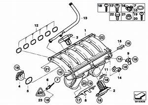 Original Parts For E91 330i N53 Touring    Engine   Intake