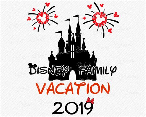 This is a legit disney freebie that will 1) give you awesome background info for starting your vacation. Disney Family Vacation SVG T-shirt design 2019 Disney Trip ...
