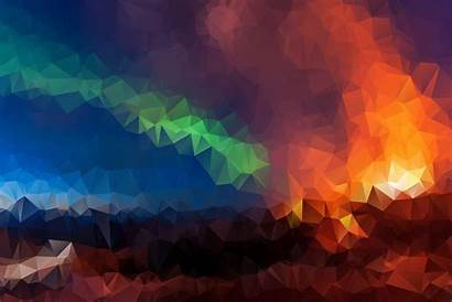 Geometric 4k Mosaic Wallpapers Triangles Digital Abstract
