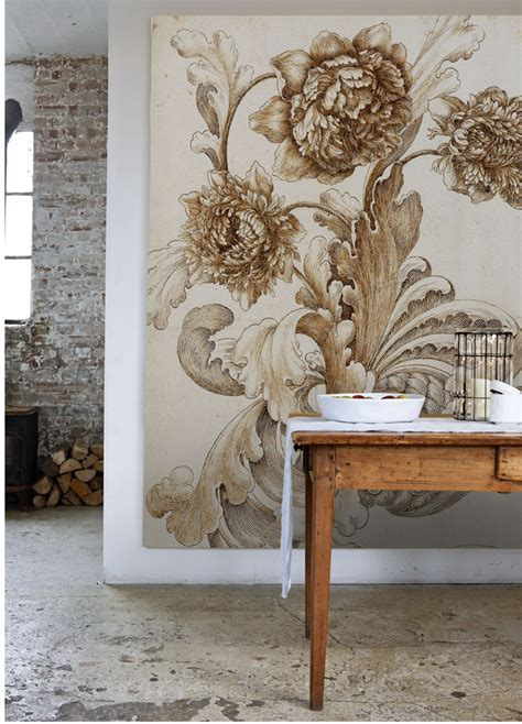 large scale wallpaper murals oversized and beautiful make yourself at home pinterest scale walls and artwork