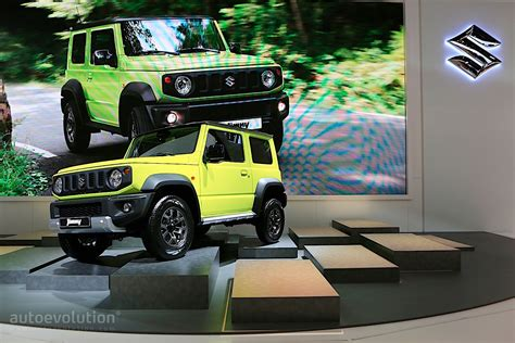 2019 Suzuki Jimny Is Out For Suv Blood In Paris