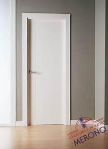Puertas Lacadas Blancas de Interiores Mod MML1