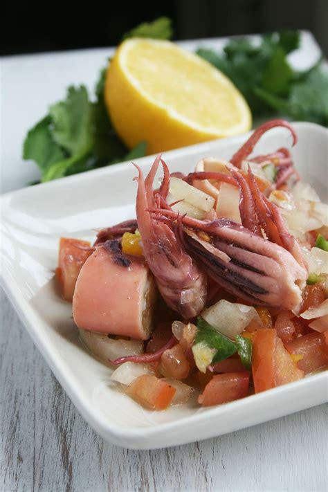 recette cuisine grecque salade de calamars 224 la grecque cette cuisine que j aime