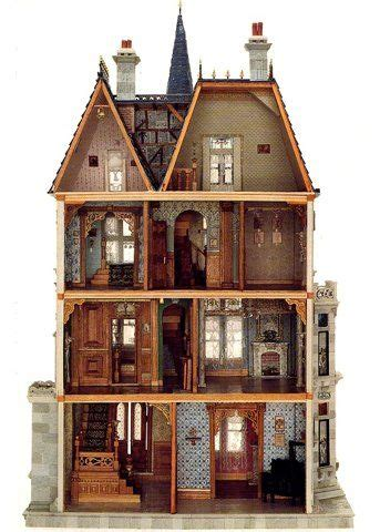 victorian dollhouse blueprints woodworking projects plans