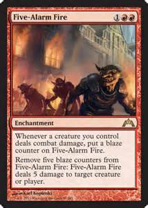five alarm fire from gatecrash spoiler
