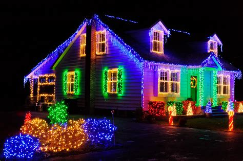 Houses With Christmas Lights by Louis Dallara Photography 187 Christmas Lights 3406