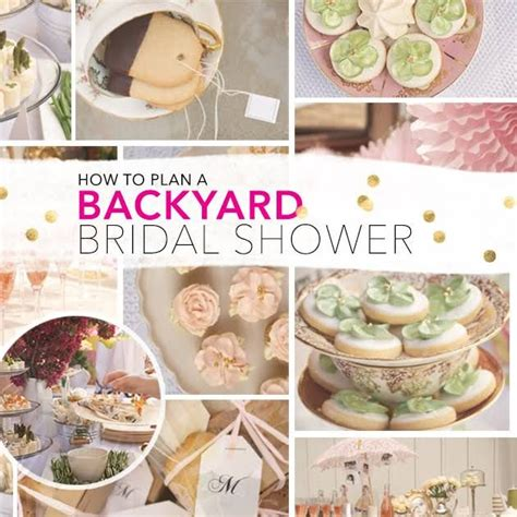 how to throw a fabulous outdoor bridal shower on a budget