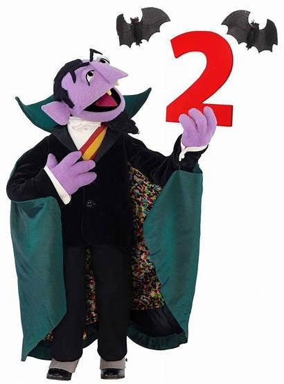 Count Bats Sesame Muppet Street Conde Clipart
