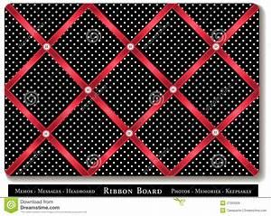Ribbon Bulletin Board Royalty Free Stock Image - Image