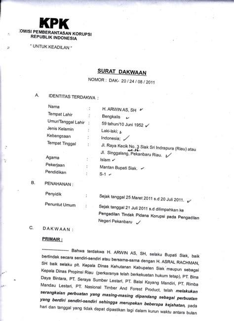 contoh surat dakwaan p 29 surat f