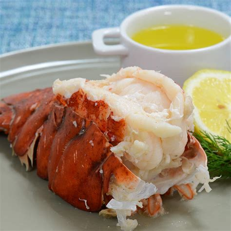 gourmet cuisine lemon butter boiled lobster tails recipe