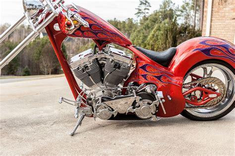 Kendall Johnson Custom Chopper