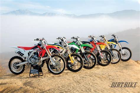 motocross bikes image gallery 2016 450 shootout