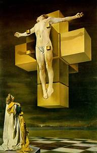"The Monkey Buddha: 3D ""Dali's Crucifixion"" by Paul Micarelli"