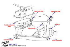1981 Corvette Rear Control Arm Diagram