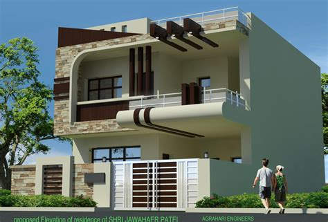 front portion design of house front elevation of 25 elevation pinterest house architecture and house exterior design