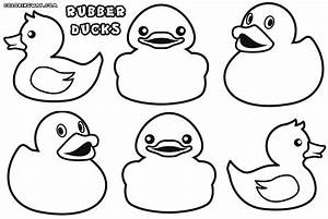 Rubber Duck Coloring Pages Coloring Pages To Download