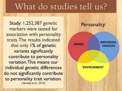 Genetics & Nature Vs. Nurture