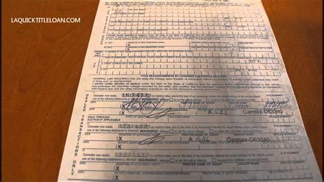 How To Fill Out A Title In California Just Follow The
