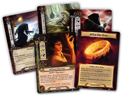 lotr lcg deck building strategy the lord of the rings the card the black riders