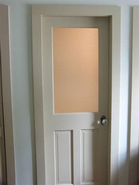 bathroom door customized glass panel door ri kmd custom woodworking