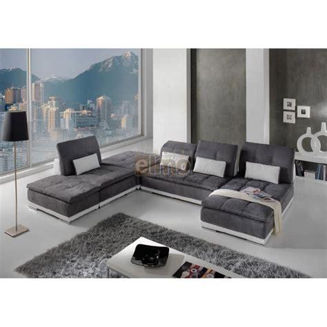 canapé tissu contemporain canapé modulable canapé d 39 angle contemporain
