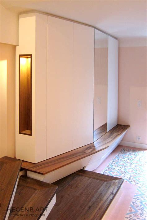 meuble de bureau sur mesure meuble d 39 entrée contemporain hegenbart
