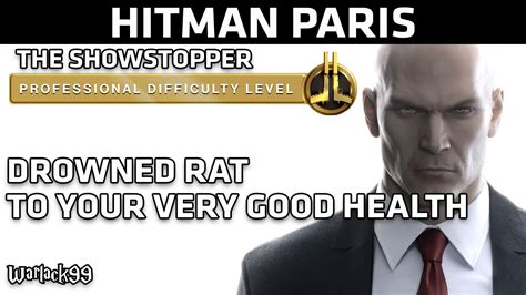 Speedboat Key Hitman by Hitman Professional Difficulty Level Paris Drowned