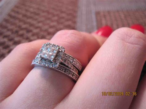 wedding ring on bottom or top best of wedding band on top or bottom of engagement ring