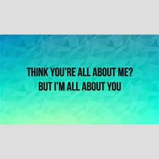 Hilary Duff  All About You (lyrics) Youtube