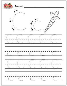 kindy writing worksheet images preschool