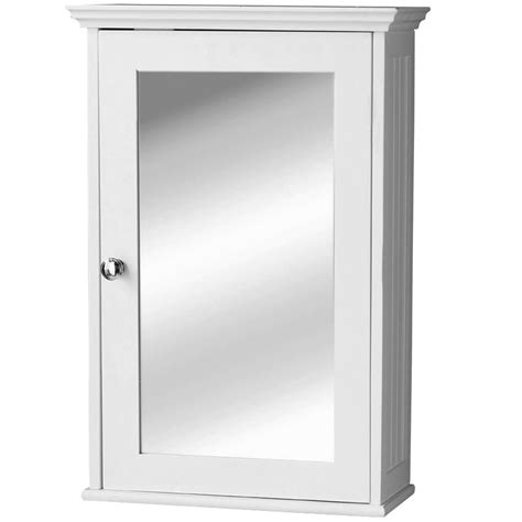 White Mirrored Bathroom Cabinets by Mirrored Single Cabinet Wall Mounted Medicine Bathroom