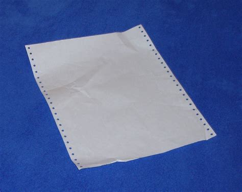 continuous form paper continuous stationery wikipedia