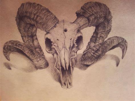 ram skull tattoo idea tattoos ram skull animal