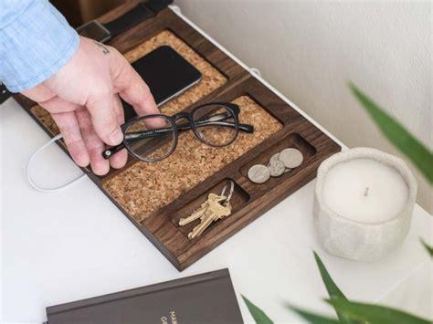 organiseur de bureau en bois organisateur de bureau design en bois