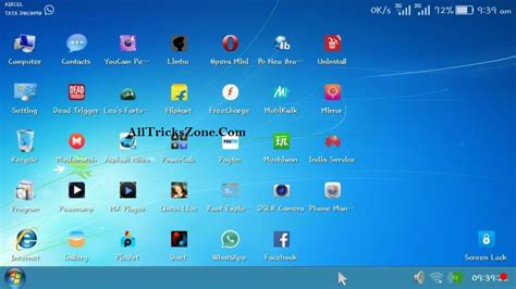windows for android 100 work real windows 7 launcher for android