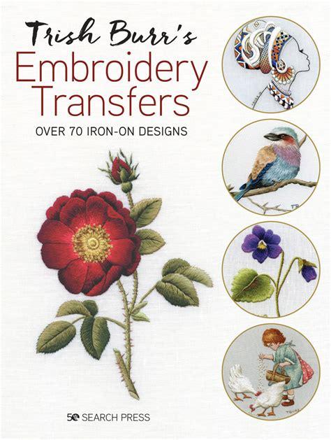 borduurblad boek trish burrs embroidery transfers