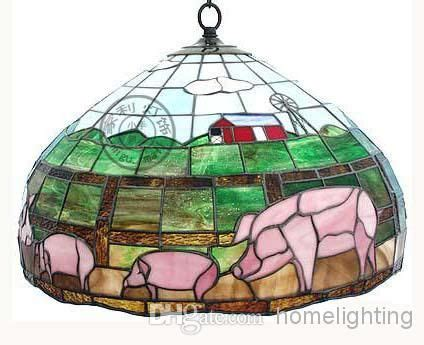 flying pig chandelier style stained glass pig hanging l light ceiling