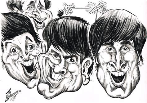The Beatles By Tim Leatherbarrow