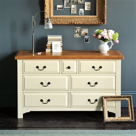 paint pine furniture shabby chic westbury painted 3 4 drawer chest j833 with free delivery the cotswold company wpm58