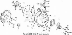 Honda Wa30 D Water Pump  Jpn  Vin  Wa30