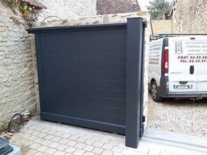 Portail 4 Metres 2 Vantaux : 17 best images about portail coulissant 2 vantaux on ~ Edinachiropracticcenter.com Idées de Décoration