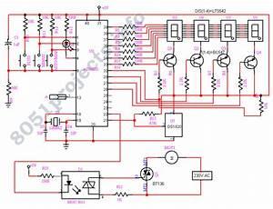 Temperature Fan Controller   Mcu Circuits