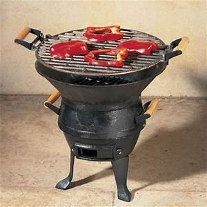 Petit Barbecue Électrique : barbecue de table brasero en fonte ~ Farleysfitness.com Idées de Décoration