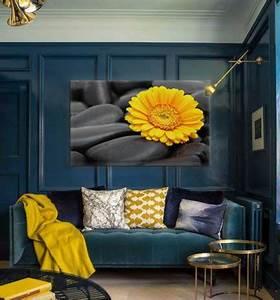 Décoration Salon Jaune Moutarde : tendance d co le jaune moutarde blog izoa ~ Melissatoandfro.com Idées de Décoration