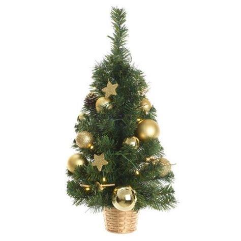 künstlicher weihnachtsbaum mit beleuchtung k 252 nstlicher weihnachtsbaum mit beleuchtung versini h60 cm gold kunsttannen deko b 228 ume eminza