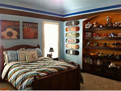 Sports Themed Bedroom Accessories Vintage Sports Boys Room Project Nursery