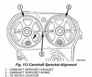 Camshaft Crankshaft Position Correlation P0016 2003 Dodge