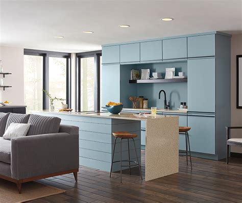 Masterbrand Cabinets Inc Careers by Contemporary Aqua Kitchen Cabinets Masterbrand