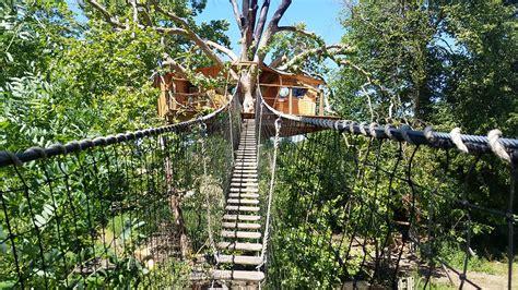 chambre d hotes dans les arbres cabane dans les arbres en normandie
